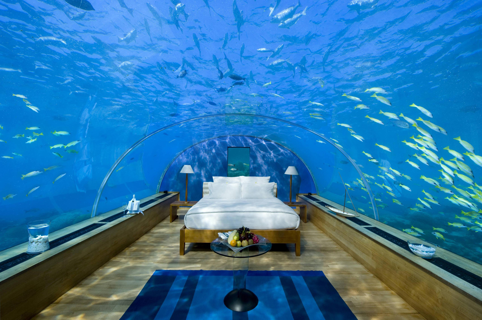 Conrad Maldives Rangali Island Resort Underwater Suites